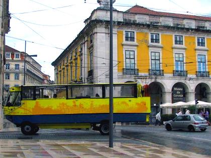 Passeio turístico de Aqua bus (anfíbio)